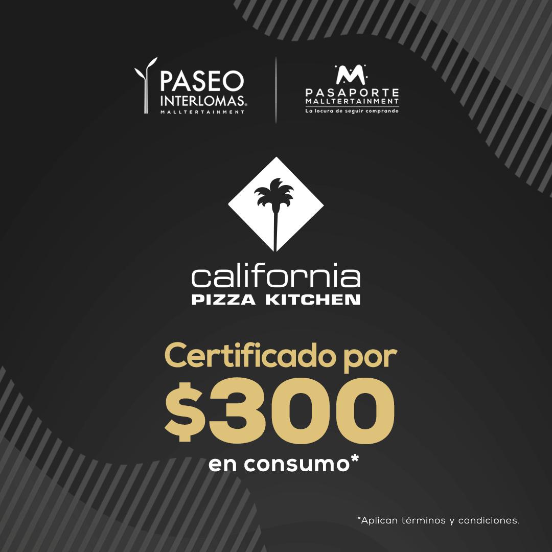 Certificado de consumo $300