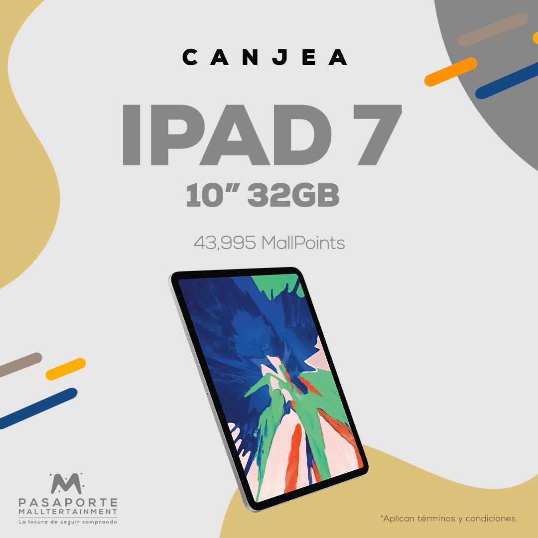 Ipad Generación 7- 10Pulgadas 32 GB color blanco