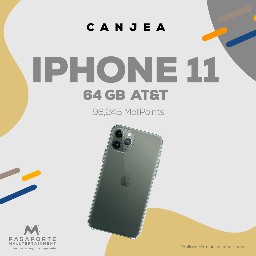 Iphone 11 Silver 64 GB Compañia At&T