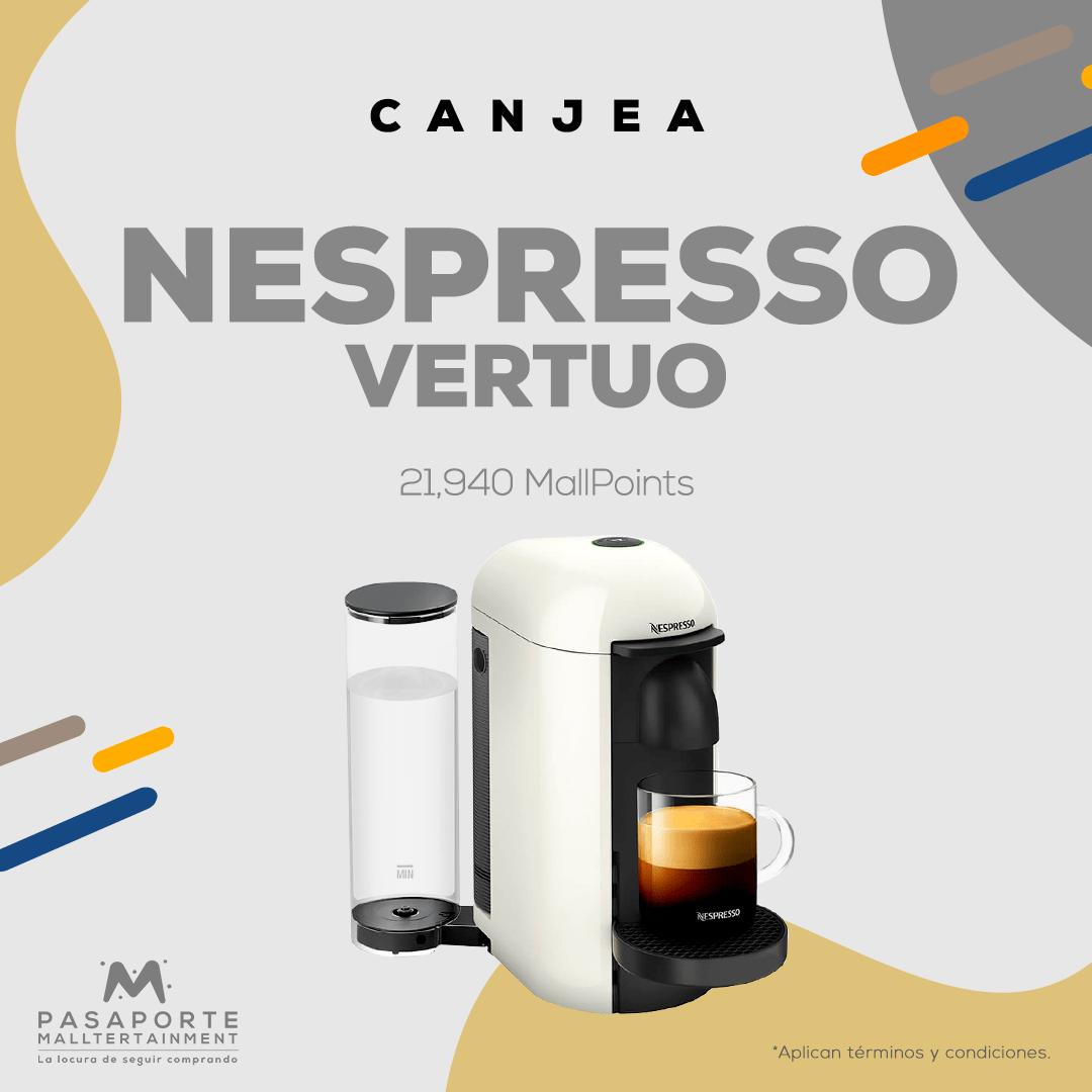Cafetera Nesspreso Vertuo