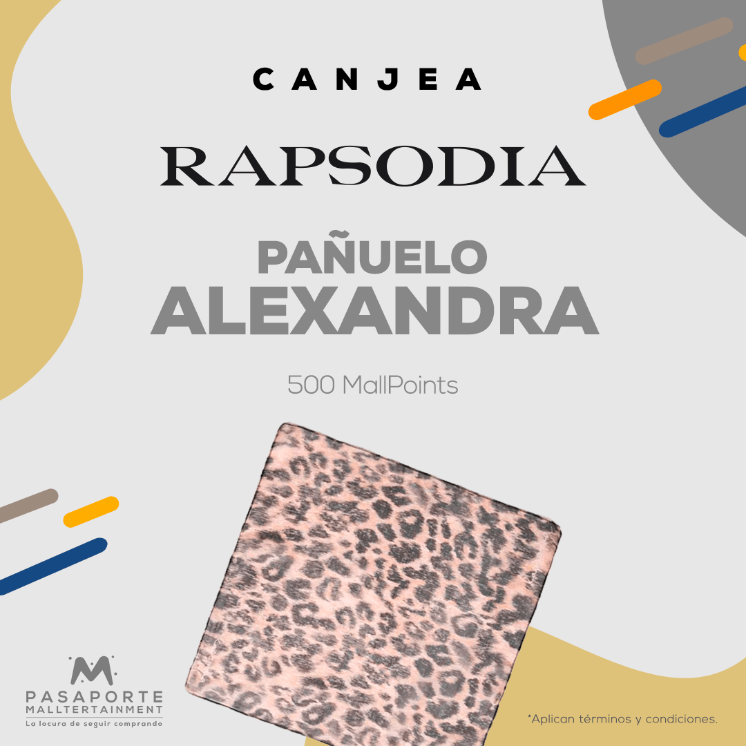 Pañuelo Alexandra Dama Rapsodia