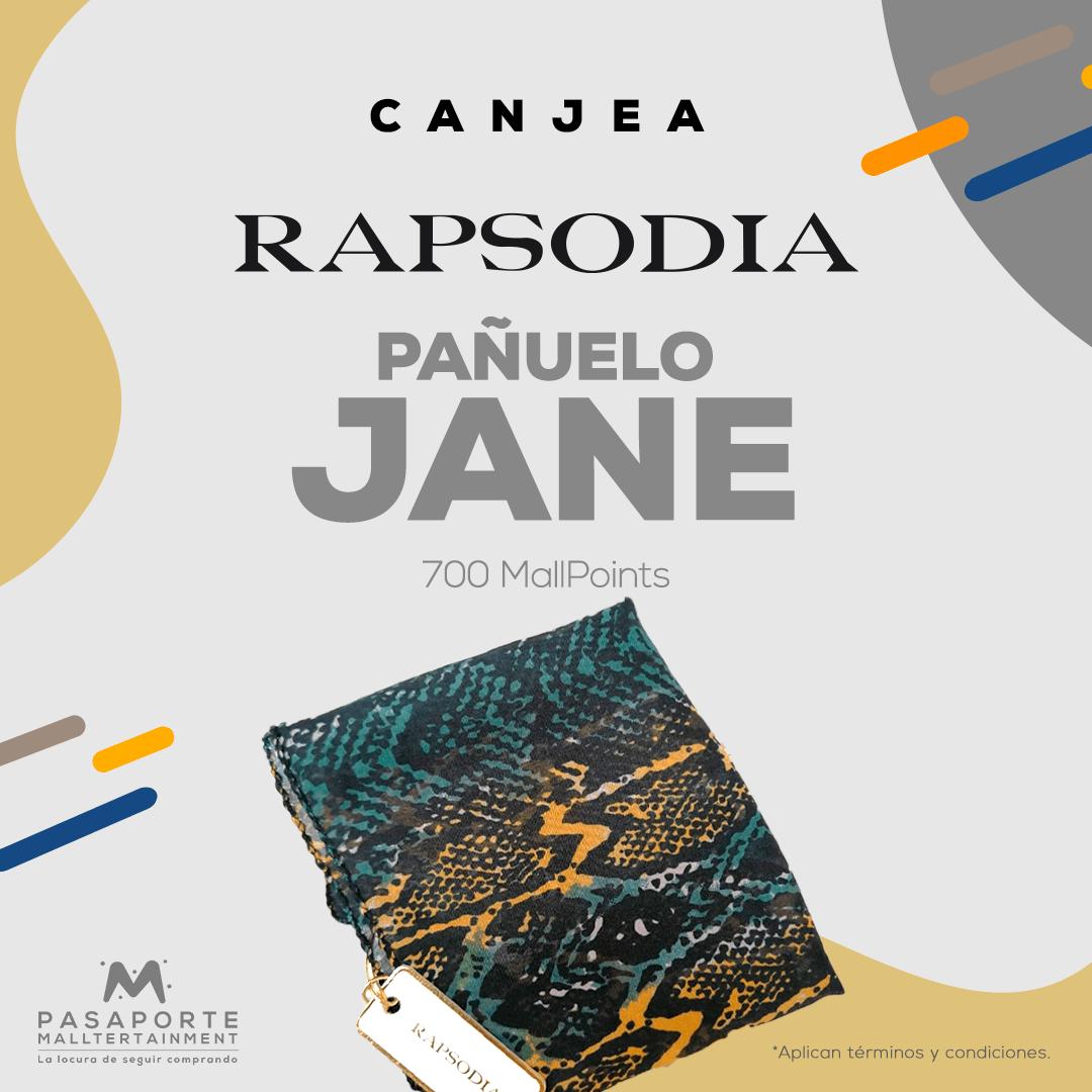 Pañuelo Jane Dama Rapsodia